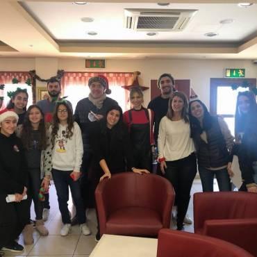 Χριστουγεννιάτικη επίσκεψη Αγάπης από τη LEMESOS VOLLEYBALL